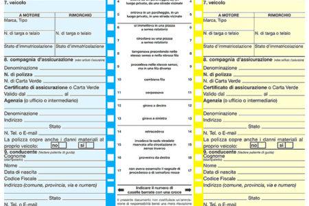 Constatazione amichevole: cosa sapere sul modello CAI - Studio Legale Catania
